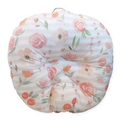 boppy big blooms newborn lounger bed
