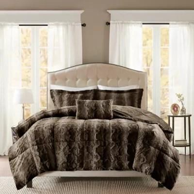 chocolate brown comforter bed bath