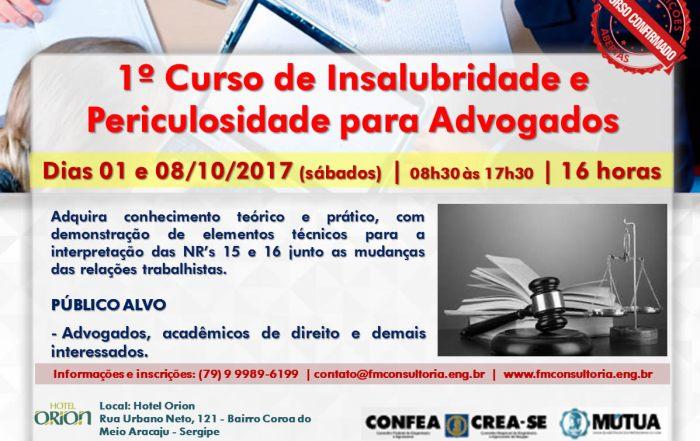 Insalubridade-e-Periculosidade-Aracaju-SE-para advogados