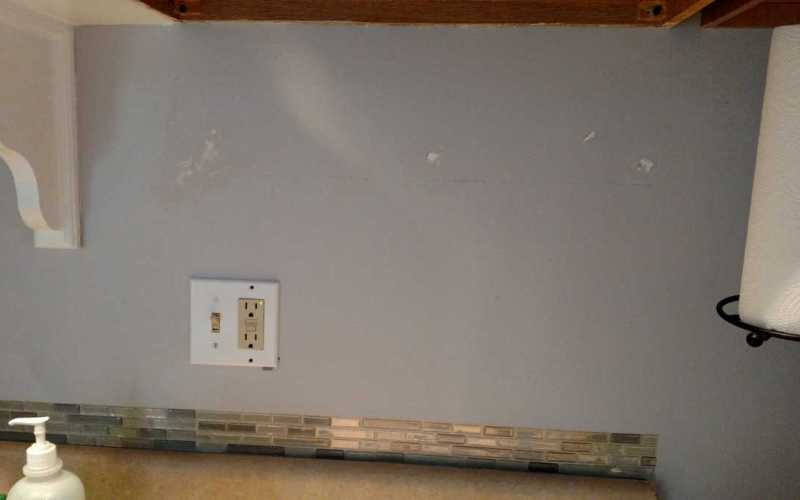 Accent Tile and Patching the Wall
