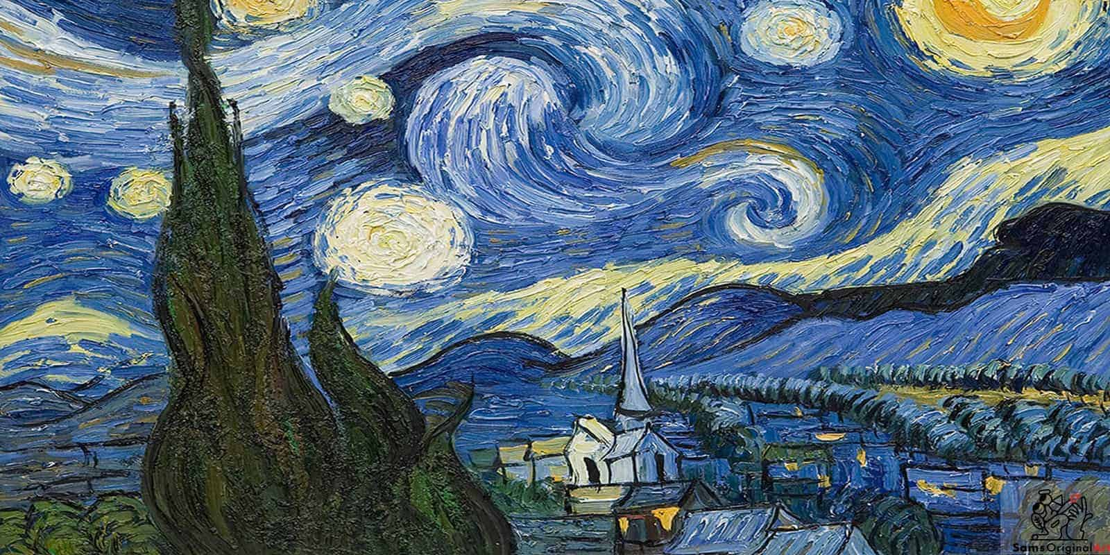 Vincent Van Gogh Has Long Been Admired By Sam His Use Of