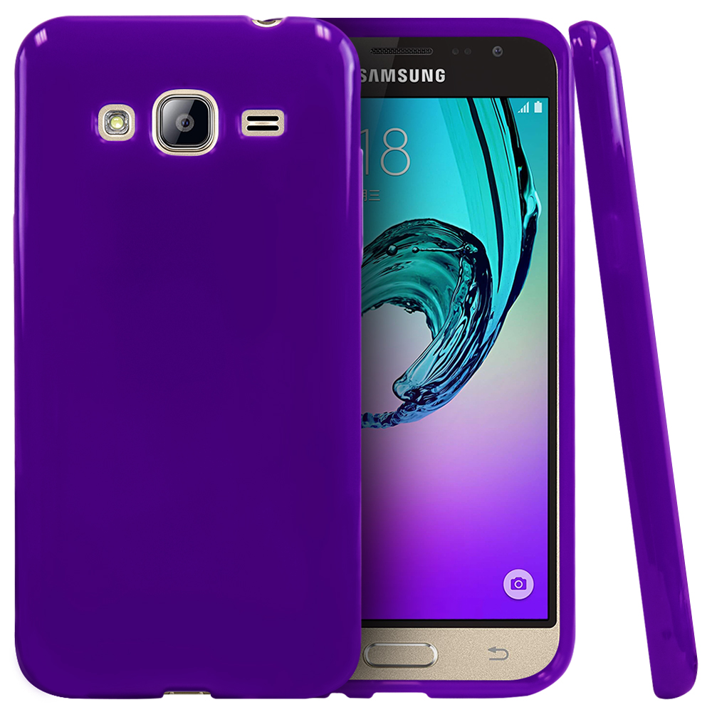Samsung Galaxy J 3 Samsung Galaxy J3 Case, Slim & Flexible Anti-shock Crystal