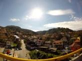 Sarajevo hillside.