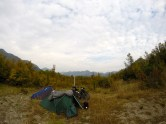Mountain wildcamp near the Montenegrin coast.