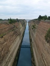 Corinth canal - Greece.