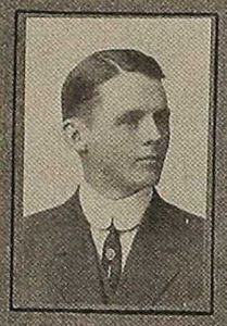 Walter A. Monson from the University of Nebraska 1910 yearbook, page 30.