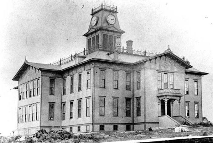 Central School in about 1885