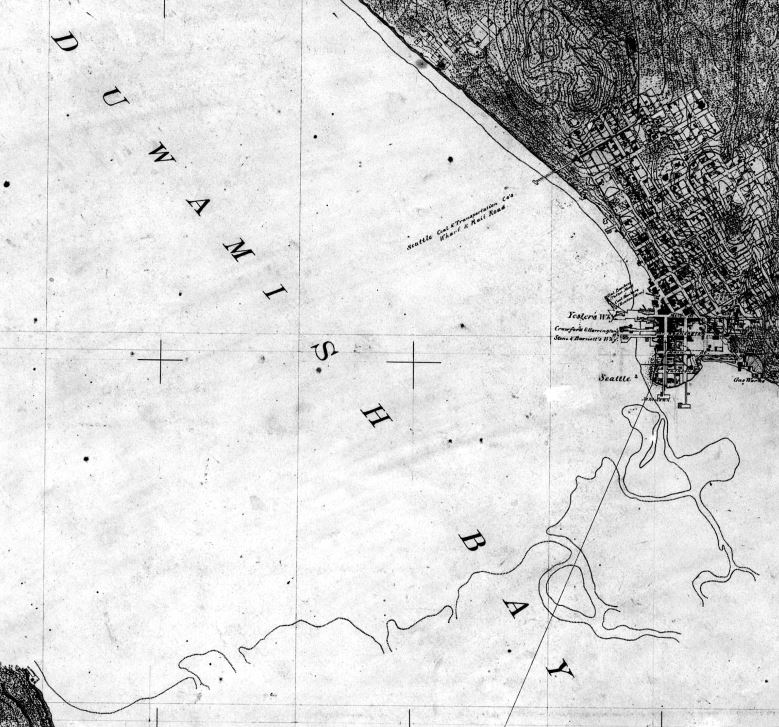 Duwamish Bay, map from USGS
