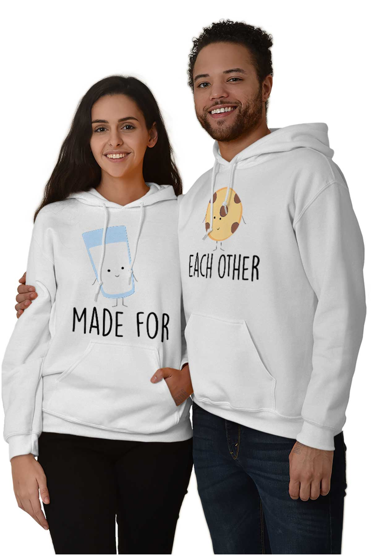 Matching Anime Hoodies : matching, anime, hoodies, Relationship, Boyfriend, Girlfriend, Matching, Hoodie, Hooded, Sweatshirt, Women