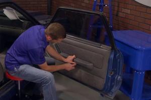 Fox Body Mustang Door Panel Removal Video