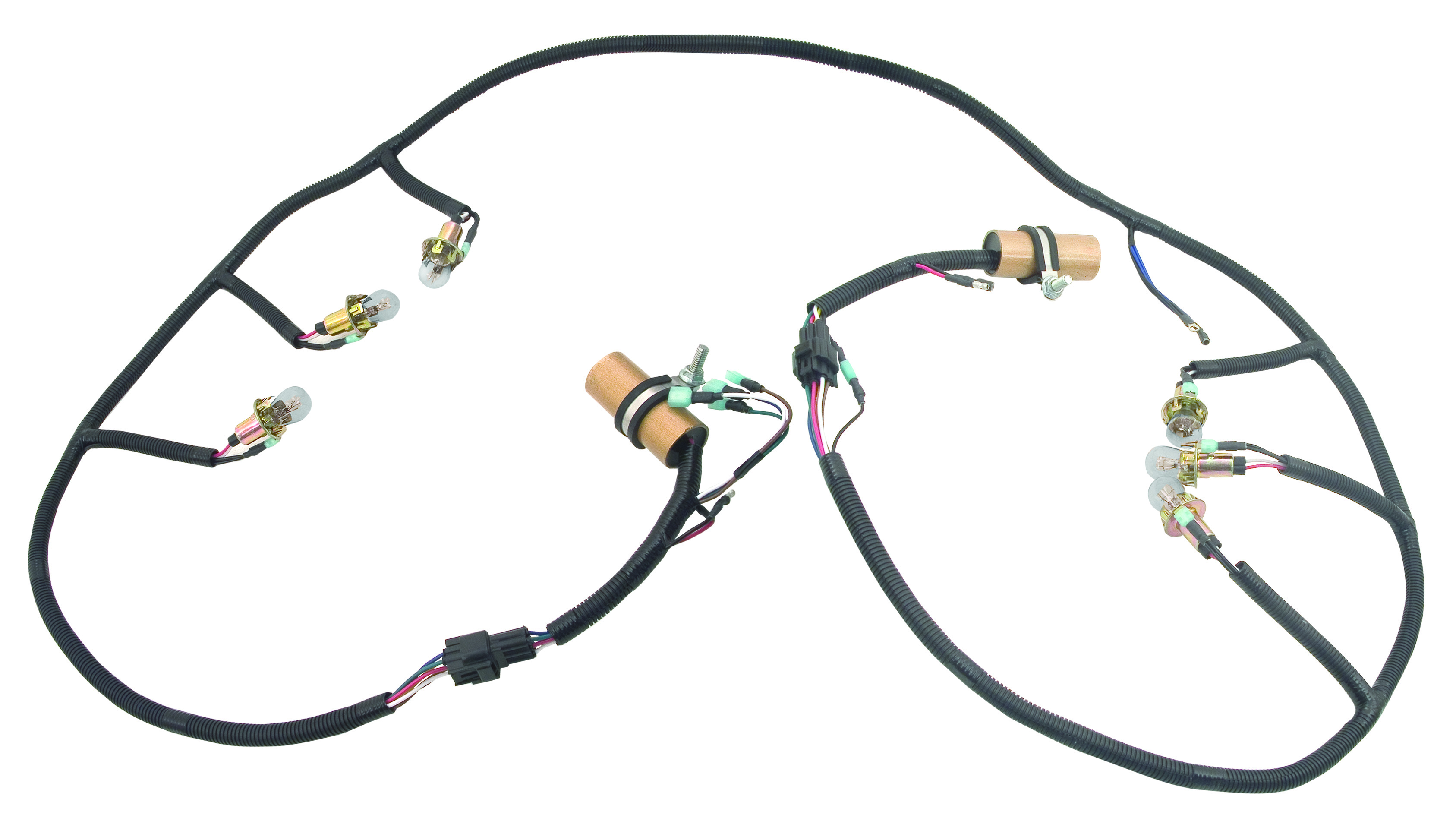 Mustang 68 69 70 Tail Lamp Wire Harness 70 Dii