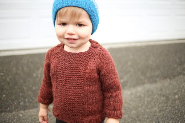 Fishermans Pullover in Cascade Eco