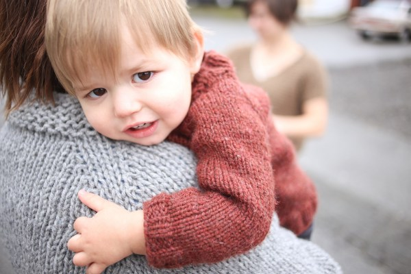 Sweater Snuggles - photos by Sylvia