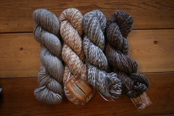 Cascade Eco Highland Duo blended skeins