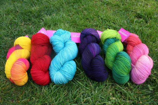 The unapologetic colours of Sweet Georgia Yarns