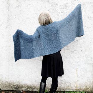 Americo Shawl-Blue1