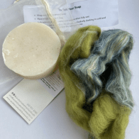 Sarah Elizabeth Fibre Works Felted Soap Kit