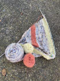 My backyard yarn.