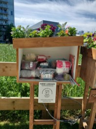 Free Fibre Library in Olympic Village