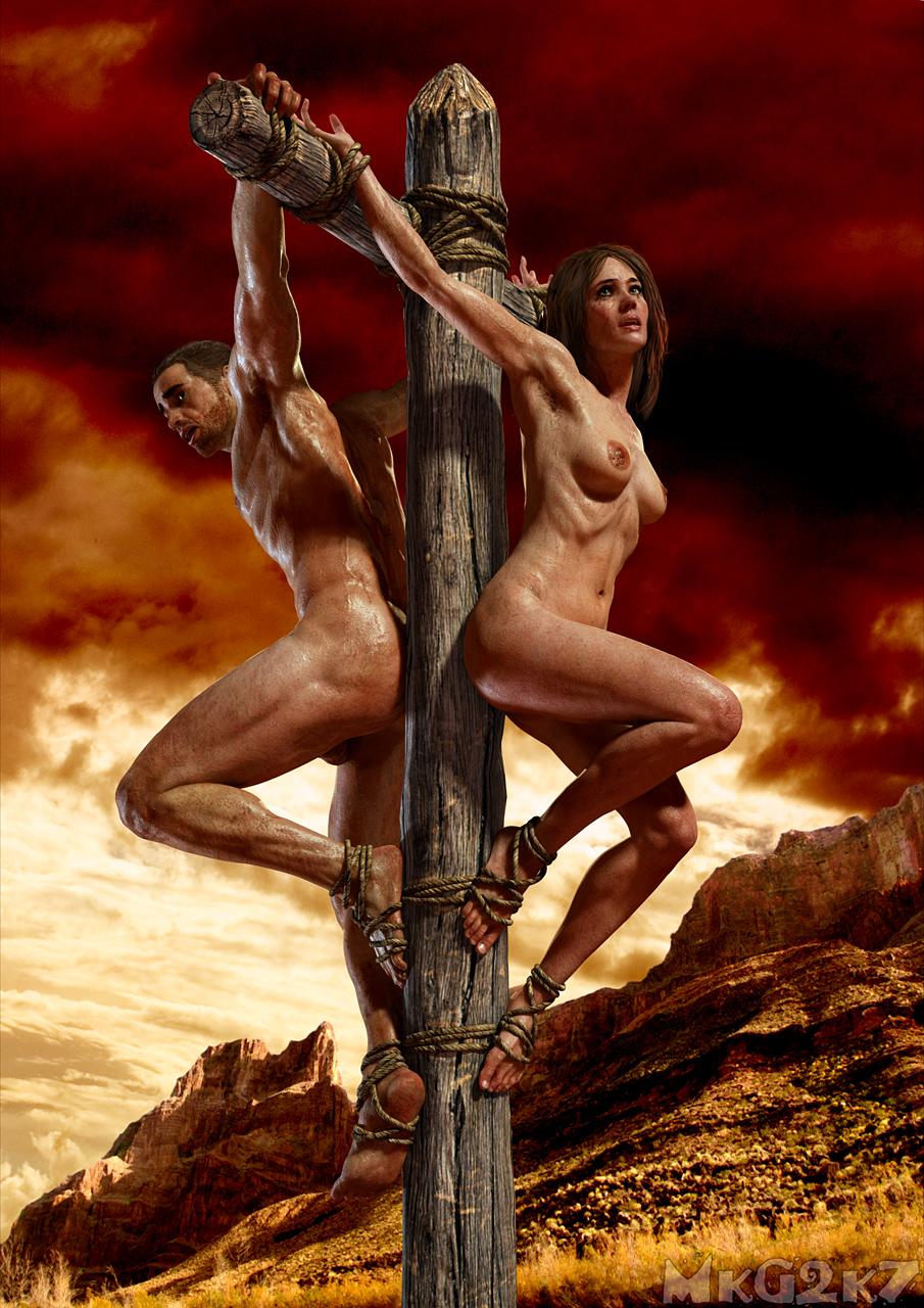 Naked Crucifixion - IgFAP