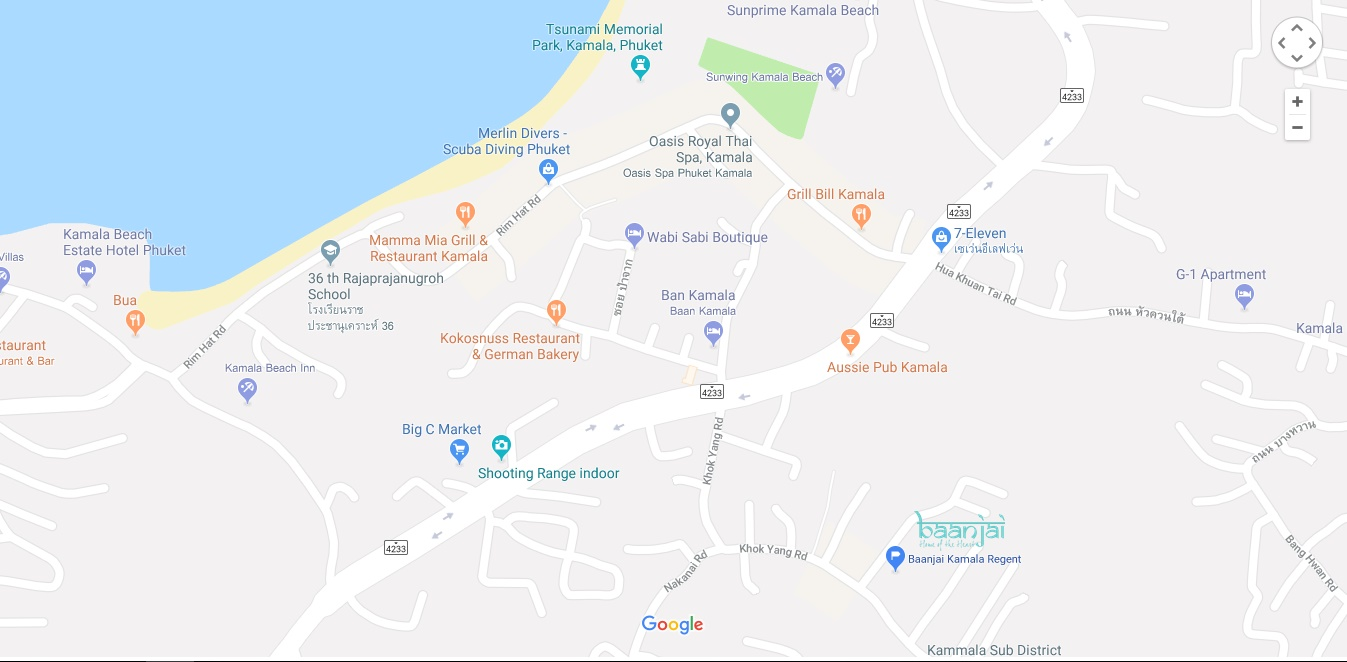 Location of the regent resort baanjai phuket kamala regent are located in quiet kamala vilage between patong and surin beach just minutes walk to kamala main beach area giving easy access to local gumiabroncs Images