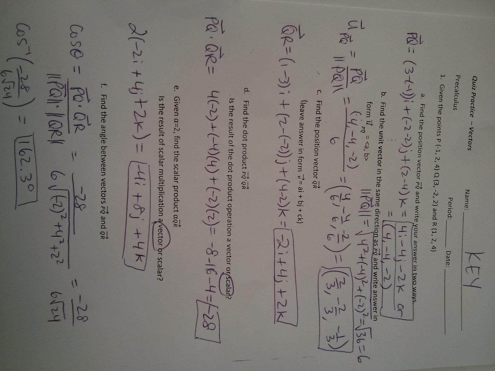 hight resolution of PreCalculus - Mrs. Baartmans