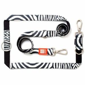 BAASJE - DIERENBOETIEK - MAX & MOLLY - Zebra - MULTI-FUNCTION LEASH