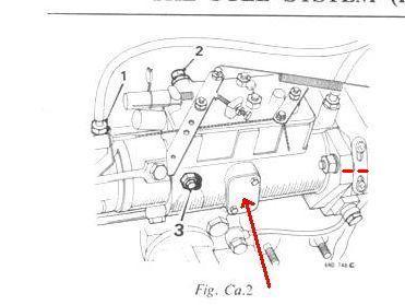 Cav dieselpumpe perkins