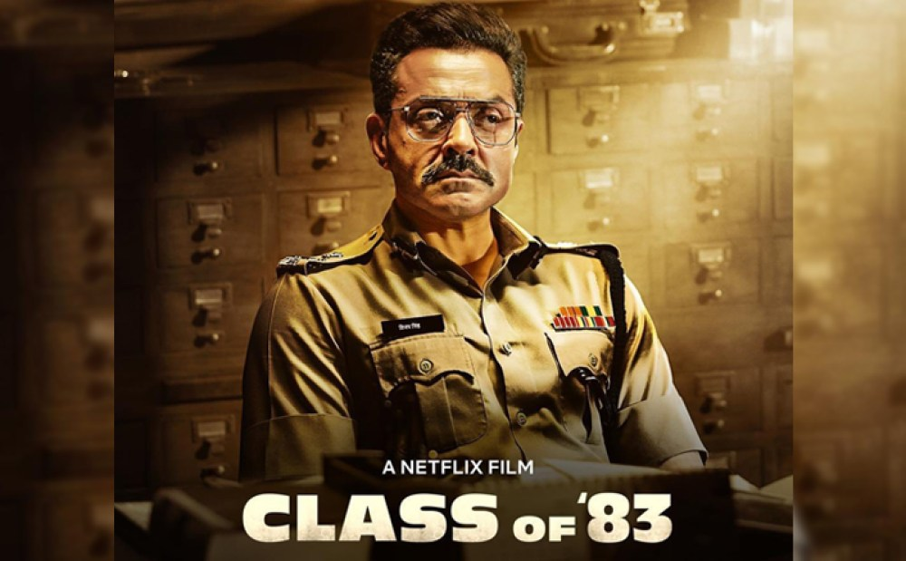 Class of 83 The comeback movie of Bobby Deol has been leaked on Tamilrockers