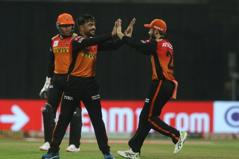 Rashid Khan and Williamson guides SRH to victory