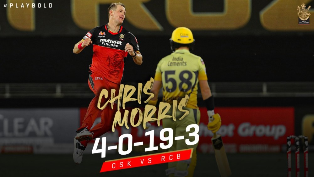 Chris Morris was impressive with his bowling