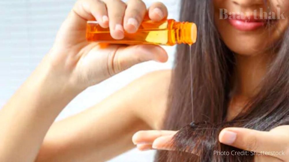 Oiling your hairs - Baaythak