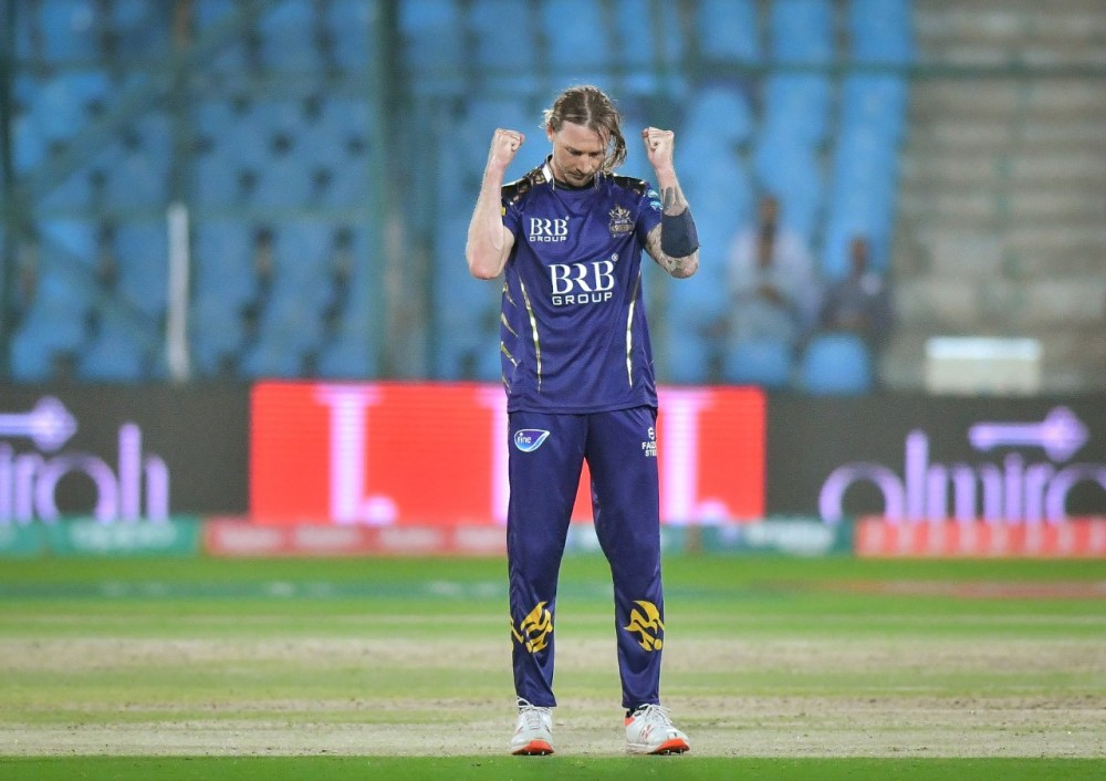 Dale Steyn in Quetta Gladiators Jersey