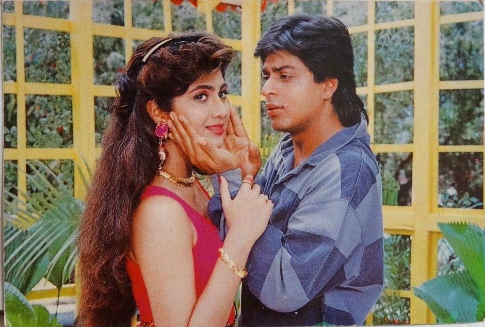 Shilpa Shetty and SRK