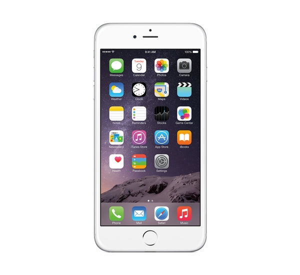 Apple Iphone 6 Plus 4g Lte فضي 64gb