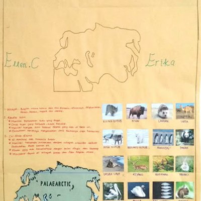 11 Kd 4 2 Membuat Peta Persebaran Flora Dan Fauna Di Indonesia Dan Dunia Yang Dilengkapi