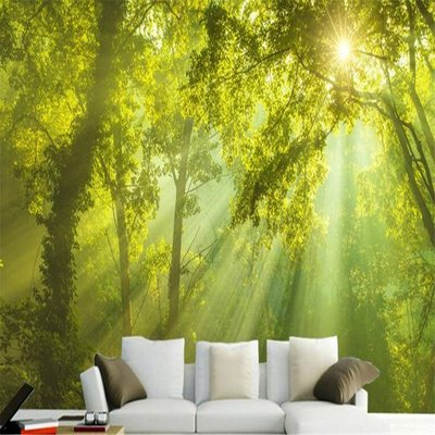 3d Corridor Wallpaper Wall Decor