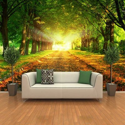 3d Effect Custom Photo Wallpaper Living Room Bedroom Interior Walls Background Wall Mural Nature