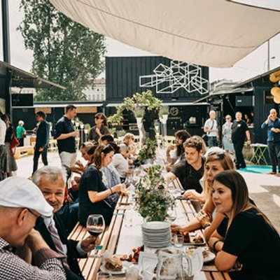 A Prague Food Market Spans The Globe