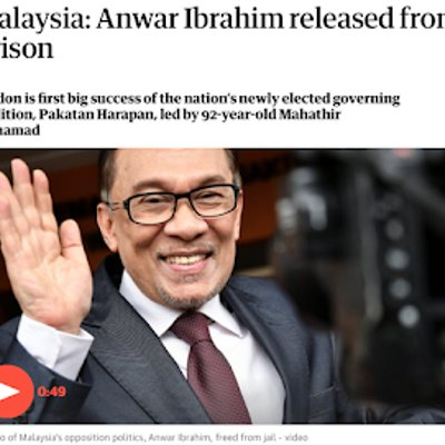 Anwar A Year After Freedom
