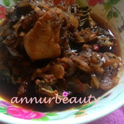 Ayam Sambal Black Pepper