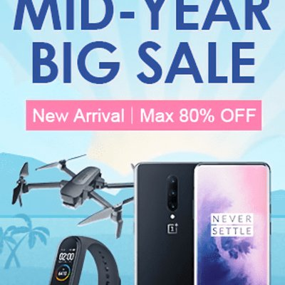Banggood Mid Year Big Sale