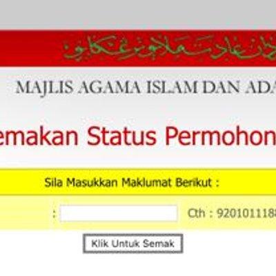 Bantuan Maidam 2019 Semakan Zakat Majlis Agama Islam Terengganu