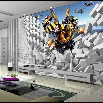 Beibehang Papel De Parede 3d Background Wall Paper 3d Mural Wallpaper For Walls Corridor Photo