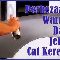 Cara Dapatkan Kod Warna Cat Kereta