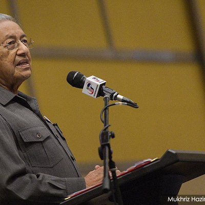 Dr M Says Portfolio Changes Discussed Denies Tok Pa To Be Made Minister