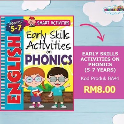 Early Skills Activities On Phonics