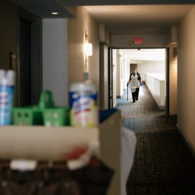 For Hotels Cleaning Is Key But Cleaners Say Their Jobs Are Under Assault