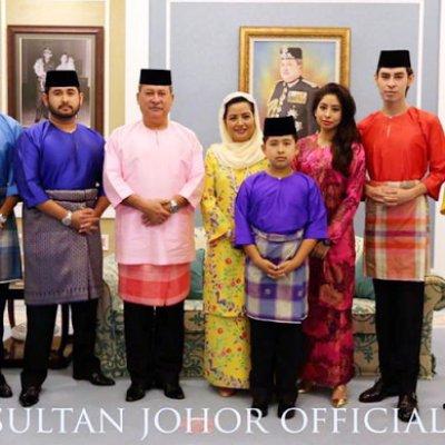 Gambar Asal Usul Pakaian Kerabat Diraja Johor Baju Melayu Teluk Belanga Dan Seluar Slack Hitam
