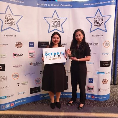 Gossip Kopitiam Manchester Wins The 2019 Asian Fusion Restaurant Of The Year Award